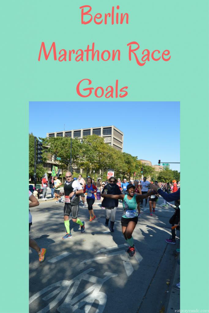 Berlin Marathon Race Goals