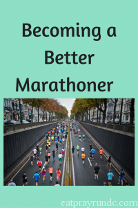 Becoming a Better Marathoner