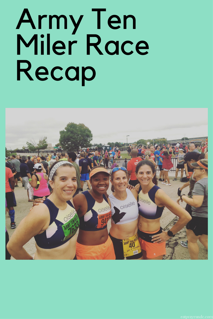 army ten miler race recap