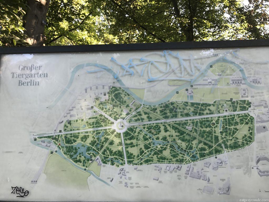 tiergarten map