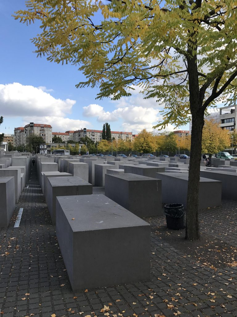 memorial to the murdered jews of eurpoe