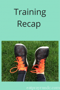 Grandma's Marathon Training Recap – Weeks 9/10