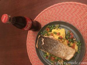 Soul Food Sessions: Crispy Seared Trout with Two-Pea Succotash