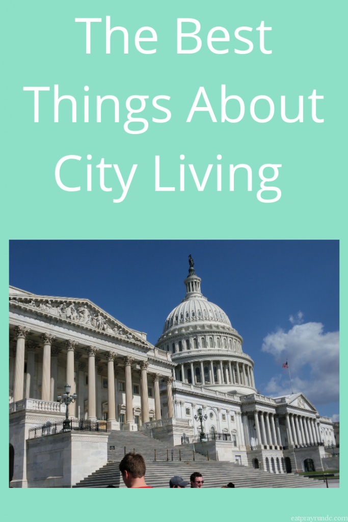 Benefits of City Living