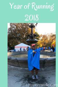 year of running 2018