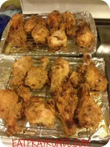 Healthier Fried Chicken