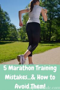 5 Marathon Training Mistakes...& How to