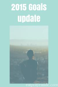 2015 Goals Update