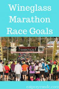 Wineglass Marathon Race Goals