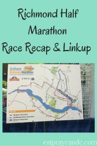 Richmond Half MarathonRace Recap & Linkup