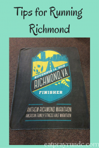 Tips for Running Richmond