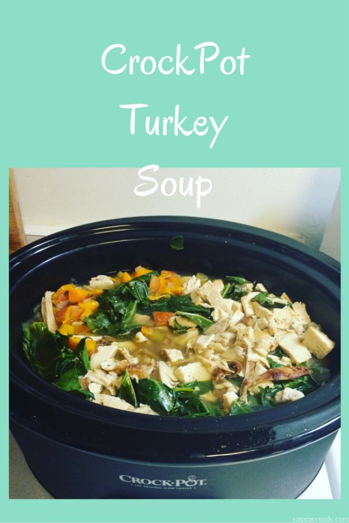CrockPot Turkey Soup