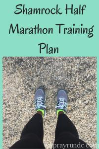 ShamrockHalfMarathon TrainingPlan