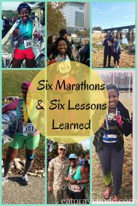 Six Marathons & Six Lessons Learned