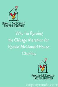Why I'm Runningthe Chicago Marathon for Ronald McDonald House Charities