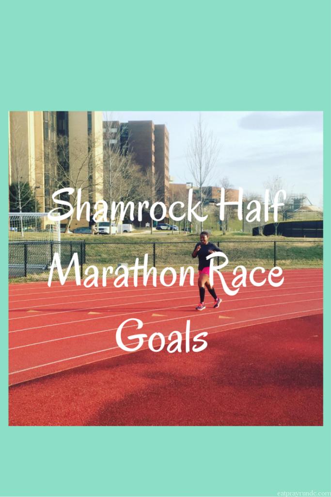 ShamrockHalf Marathon Race Goals