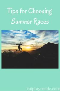 Tips for Choosing Summer Races