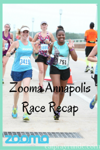 Zooma Annapolis Race Recap