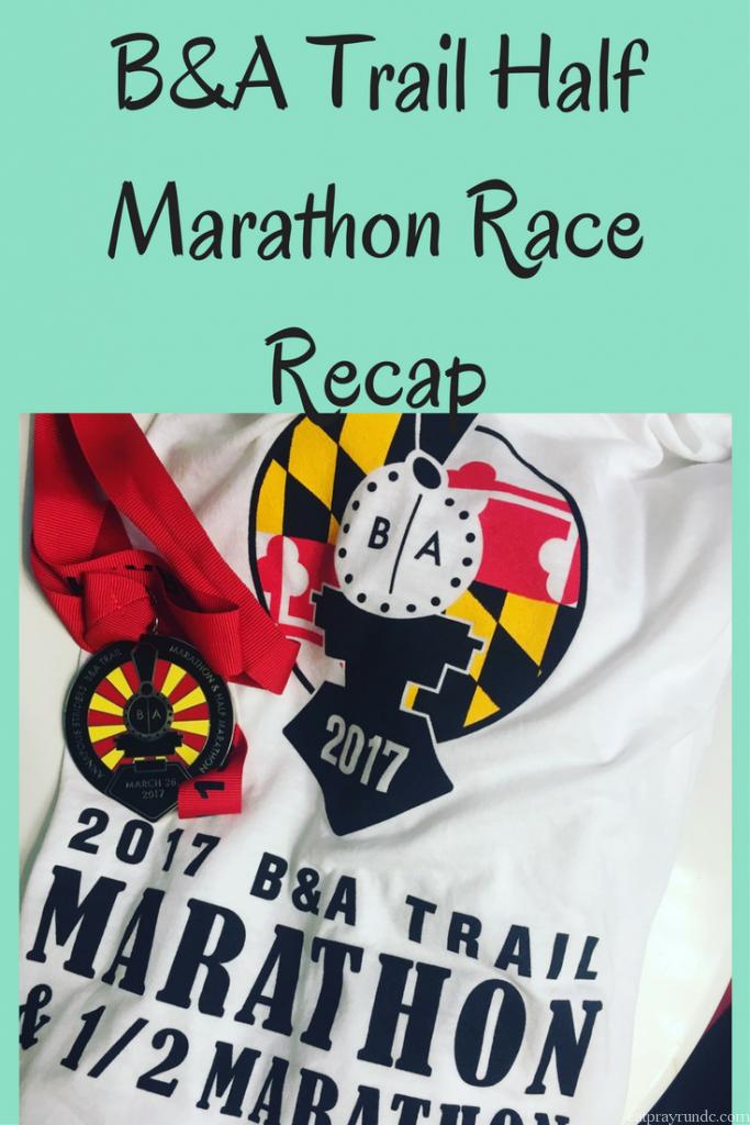 B&A Trail Half Marathon Race Recap