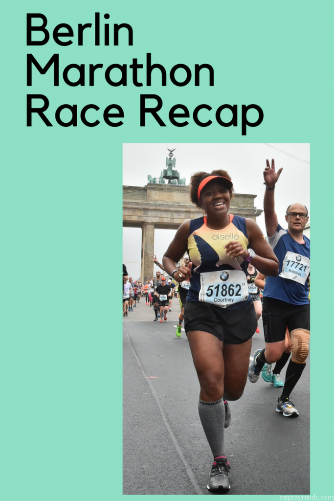 berlin marathon race recap