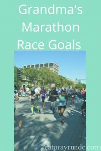 Grandmas Marathon Race Goals